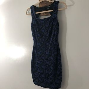 Lacy body con dress by Forever 21 size small